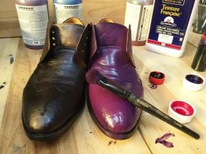 Покрасить туфли Киев